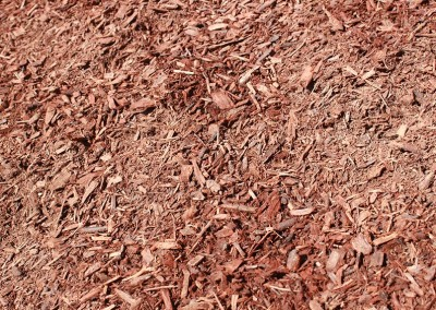 Red Fine Shredded Mulch