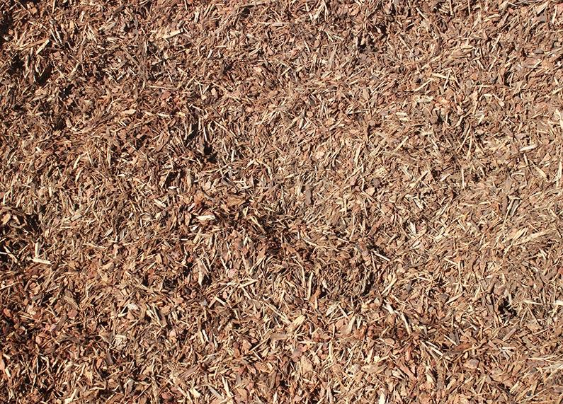 Shredded walk on bark ontario rock landscape for Landscaping rocks you can walk on